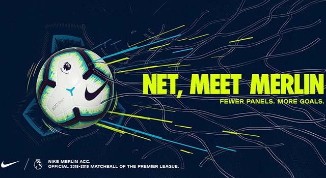 พรีเมียร์  เปิดตัว Merlin ลูกฟุตบอลใหม่ใช้ฤดูกาลหน้า